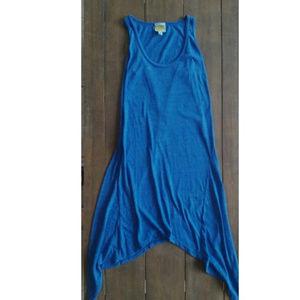 C&C California Blue Tank Dress Sharkbite M